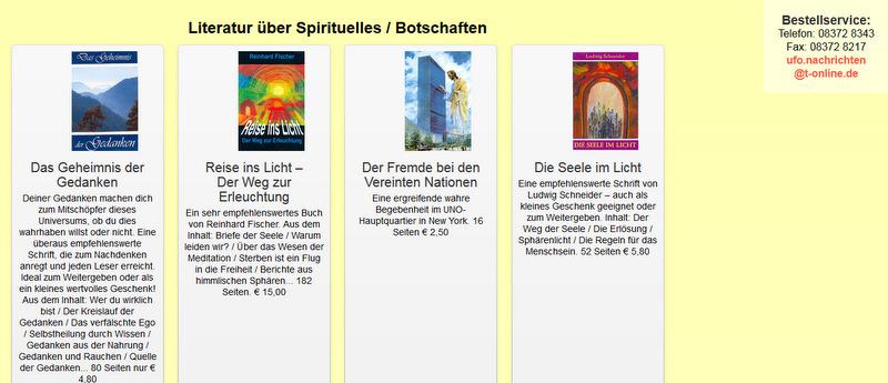 Literatur Ufo-nachrichten - 1