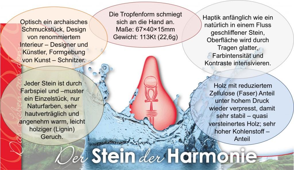 Stein der Harmonie Heilwasserkraft