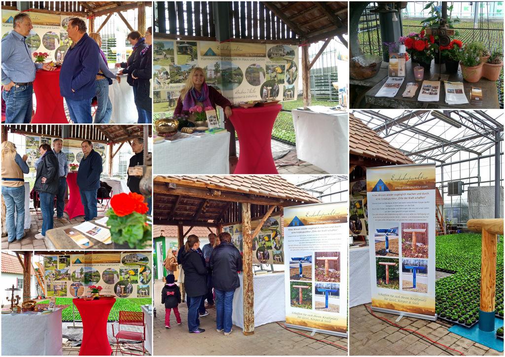 Erdakupunktur Ausstellung und Messe