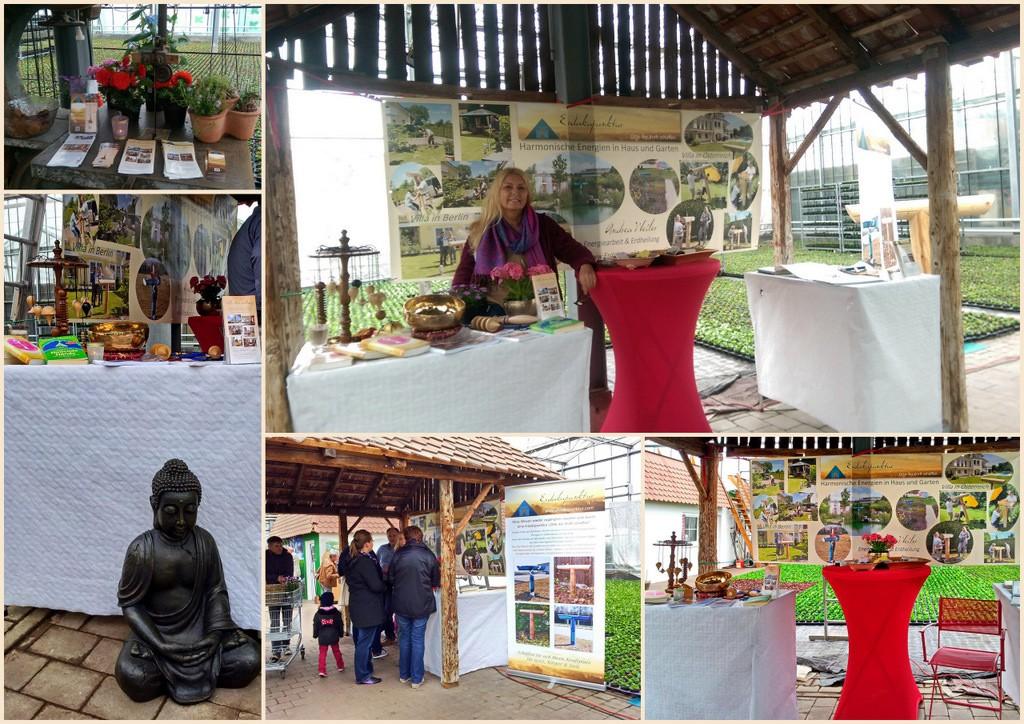 Erdakupunktur -Gartenausstellung-Hamp