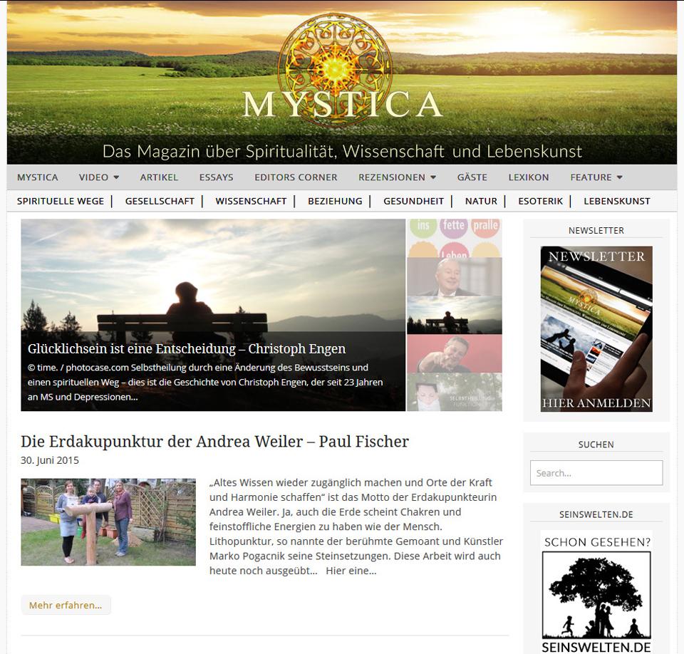 MYSTICA.TV -Erdakupunktur