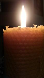 Agnihotra-Bienenwachskeze