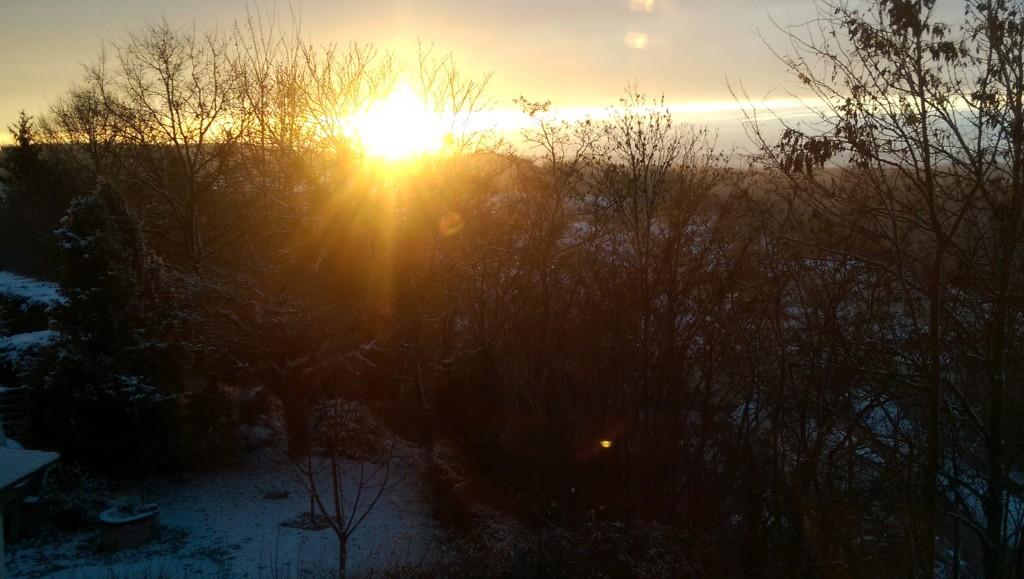 Sonnenaufgang-Agnihotra